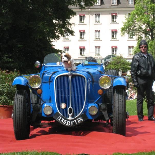 15 - DELAHAYE 135 RACING - 1935