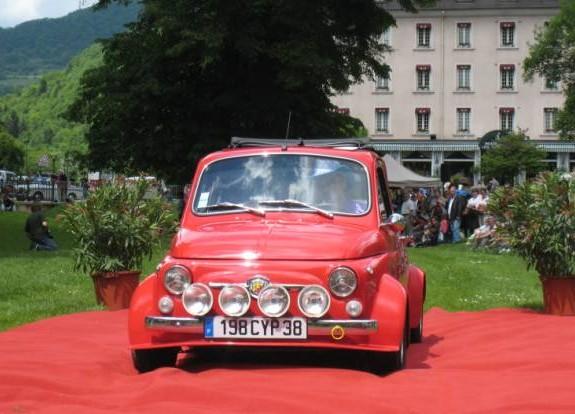 5 - FIAT 500 R2PLIQUE Abarth - 1971